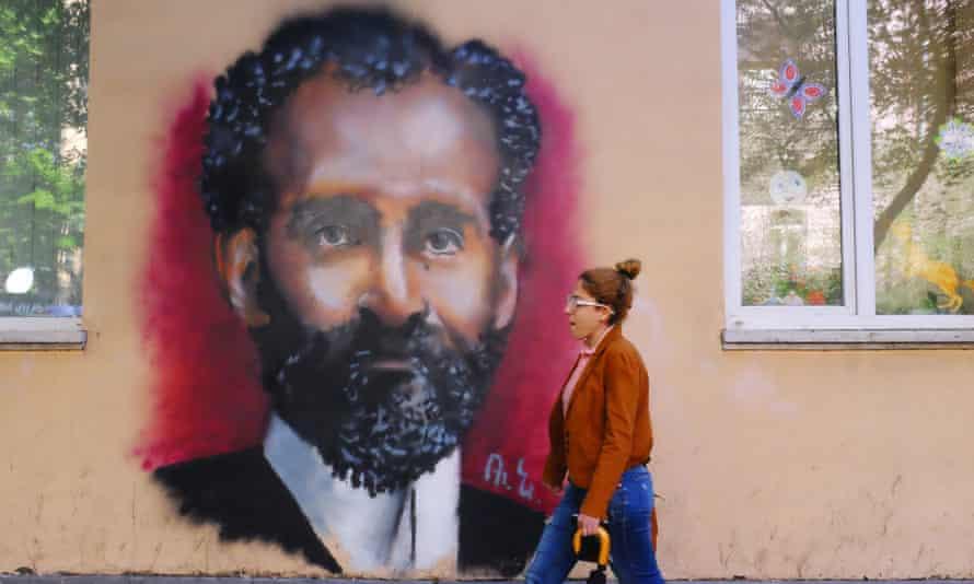 Street art in Yerevan