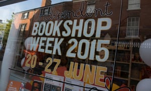 Booka bookshop in Oswestry marks last year's Independent Bookshop Week.