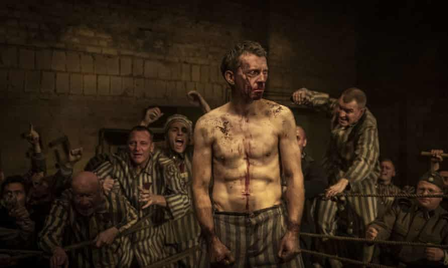 Piotr Glowacki as Tadeusz Pietrzykowski in The Champion of Auschwitz.
