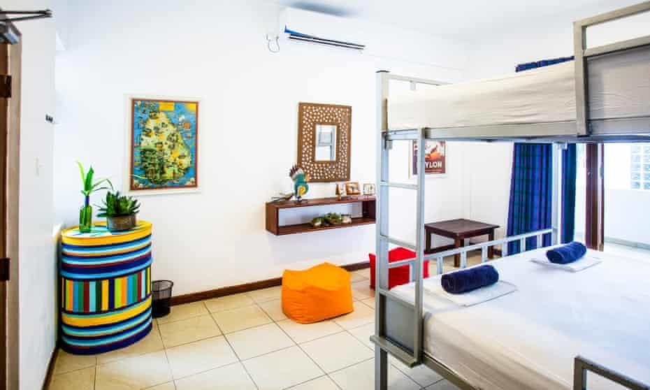 Dorm room at Bunkyard Hostels Colombo, Sri Lanka