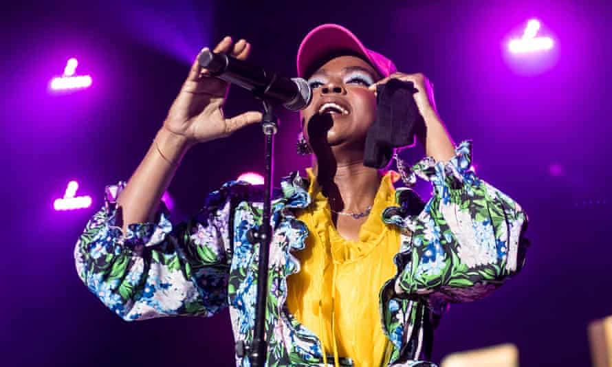 Lauryn Hill in Philadelphia in July this year.