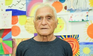 John Giorno in August, at a gala honouring his partner Ugo Rondinone in New York.