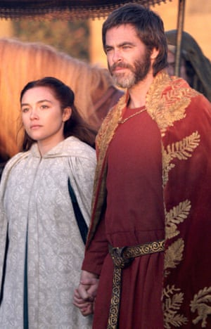 Outlaw King with Florence Pugh and Chris Pine