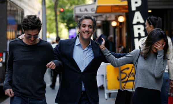 U.S. President Donald Trump's personal lawyer Michael Cohen arrives at his hotel in New YorkU.S. President Donald Trump's personal lawyer Michael Cohen arrives at his hotel with his children in New York City, U.S., May 11, 2018. REUTERS/Brendan McDermid