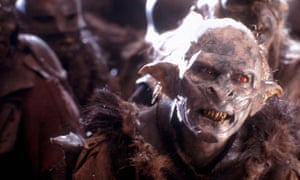The perfect face: the Orc Grishnákh in Peter Jackson's The Lord of the Rings: The Two Towers.