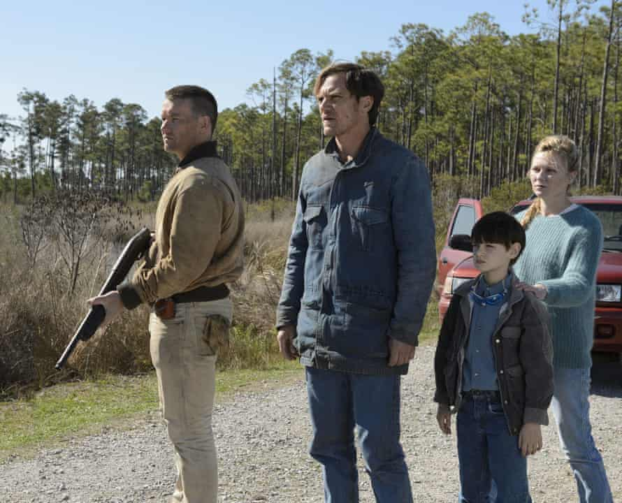 'Calibre of cast' … from left, Joel Edgerton, Michael Shannon, young Jaeden Lieberher, and Kirsten Dunst.