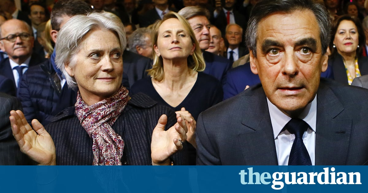 'Penelope-gate' casts dark shadow over Fillon's presidential prospects
