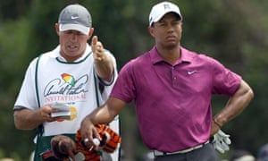 Tiger Woods and Steve Williams