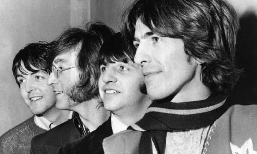 The Beatles pictured in 1968.