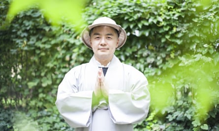 Especially eloquent on life's smaller dissatisfactions … South Korean Zen writer Haemin Sunim.