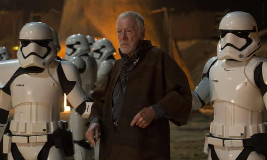 Max von Sydow in The Force Awakens