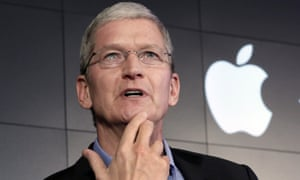 The Apple chief executive, Tim Cook