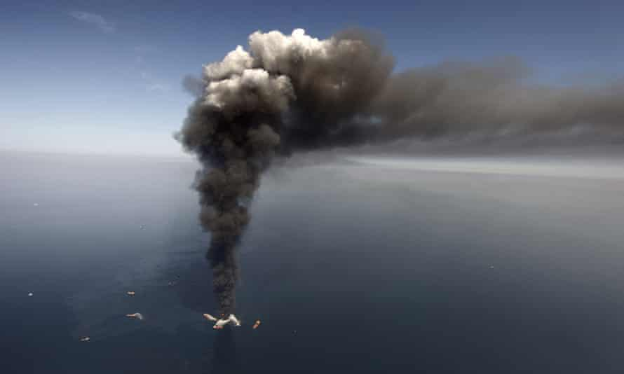 130m gallons of oil leaked from Deepwater Horizon.