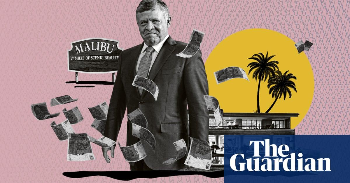 King of Jordan hidden property empire worth more than $100m, Pandora papers reveal