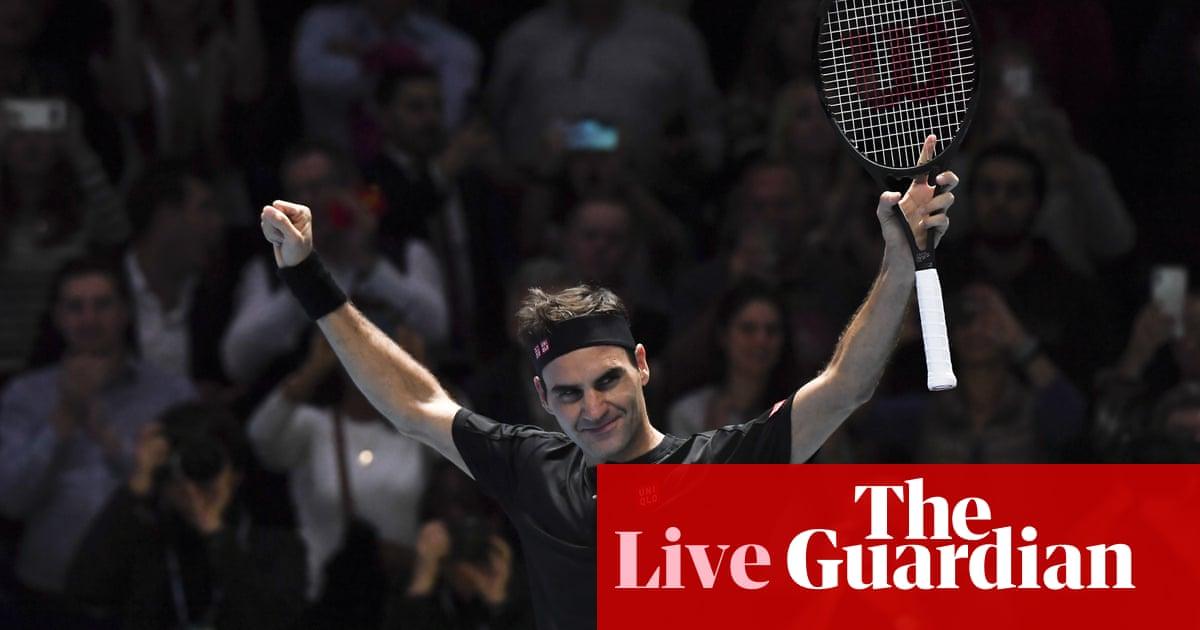 Roger Federer defeats Novak Djokovic: ATP Finals – as it happened