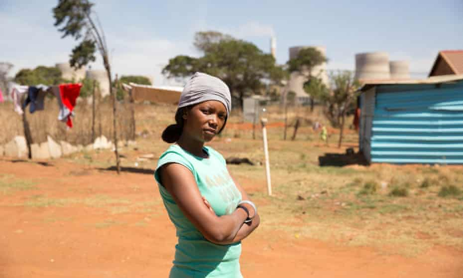 Patricia Mabaso was relocated to Kayalethu settlement neat Kendal power station