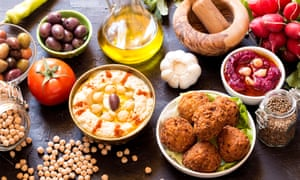 Middle Eastern food. 'Comparing the costs and nutritional values of a bowl of lentil soup or stuffed peppers to a burger with chips is a no-brainer,' writes Catherine Hezser.