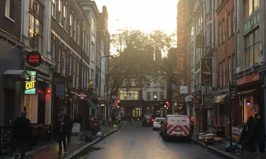 Denmark Street, London W1