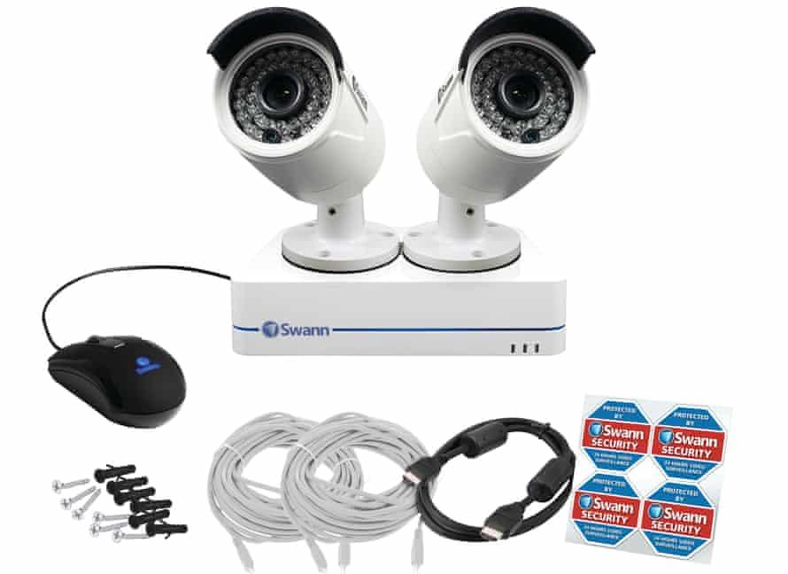 CCTV kit.
