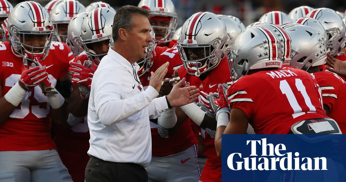 a8636be6621 Urban Meyer, one of America's most famous coaches, banned over protege  scandal