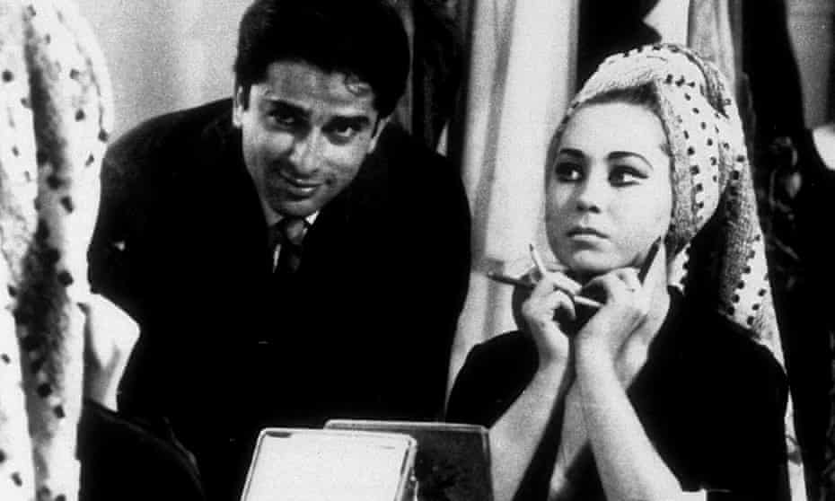 Shashi Kapoor and Felicity Kendal in Shakespeare Wallah, the second feature by Merchant Ivory Productions.