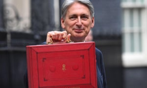 Philip Hammond has been given some breathing room by strong tax receipts.