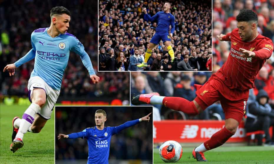 Phil Foden, Ross Barkley, Alex Oxlade-Chamberlain and James Maddison are all in contention.
