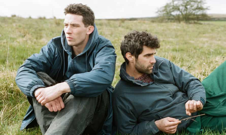 'Men who find the physicality of love rather easier than articulating it': Josh O'Connor, left, and Alec Secareanu in God's Own Country