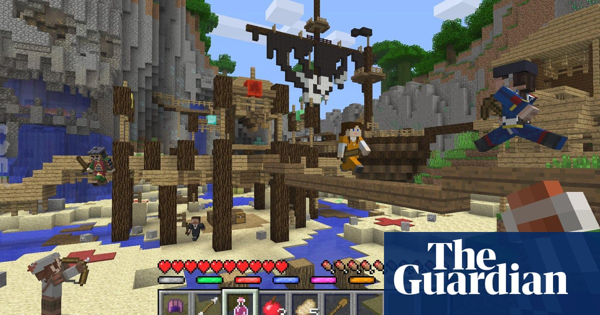 Minecraft Mini Games Coming To Xbox Playstation And Wii U In June - Last-of-us-map-minecraft