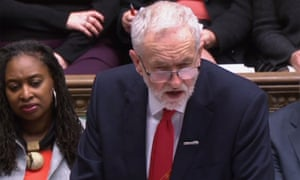 Corbyn has been the target of anger over Labour's stance on Brexit.