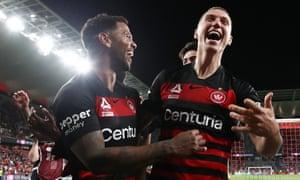 A-League, Sydney derby, Western Sydney Wanderers celebrations