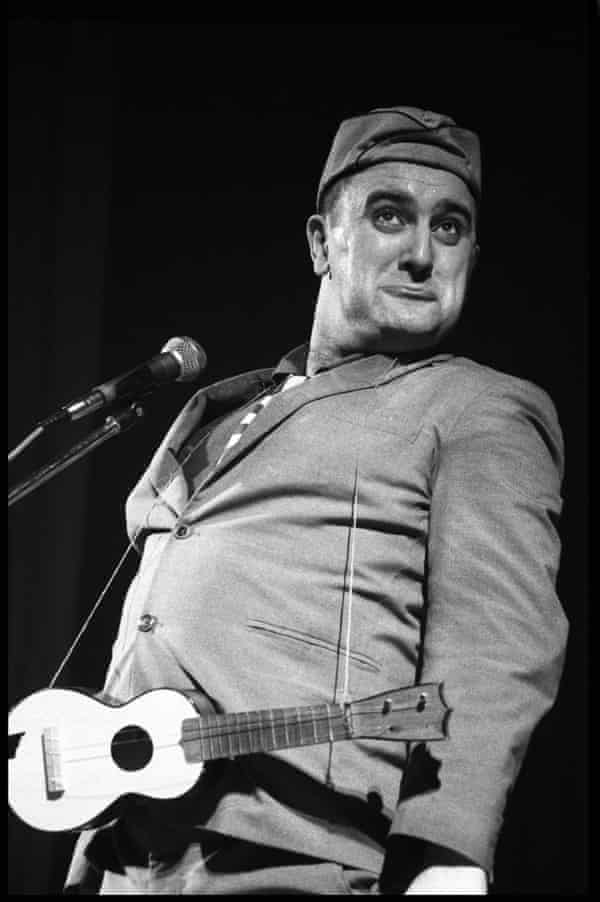 'I am not a performer who has been universally loved' … Alexei Sayle in Liverpool in 1982.