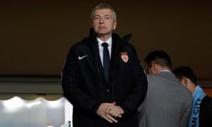 Monaco FC president Dmitry Rybolovlev.