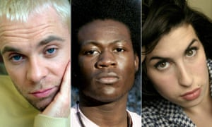 2015: the year we normalised talk about mental illness in music … from left, Brian Harvey, Benga and Amy Winehouse.