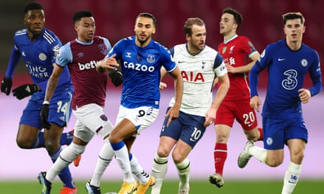 Top-four tussle: hopes and fears in race for Champions League spots