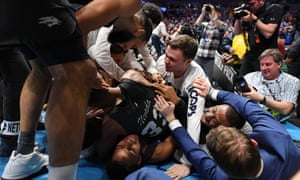 Nevada collapse in jubilation after their stunning comeback