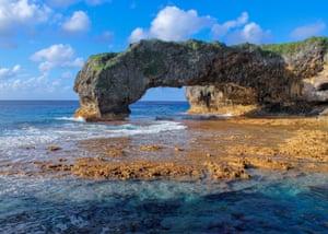 Niue Arch, Talava Arches, Hikutavake, Niue, by Ollie Dabson