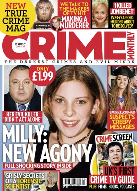 Crime Monthly magazine.