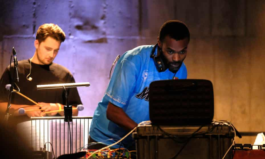 Lending physical form to conceptual evening … DJ Actress and London Contemporary Orchestra.
