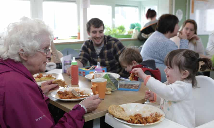 Lunch at the Community Kitchen.