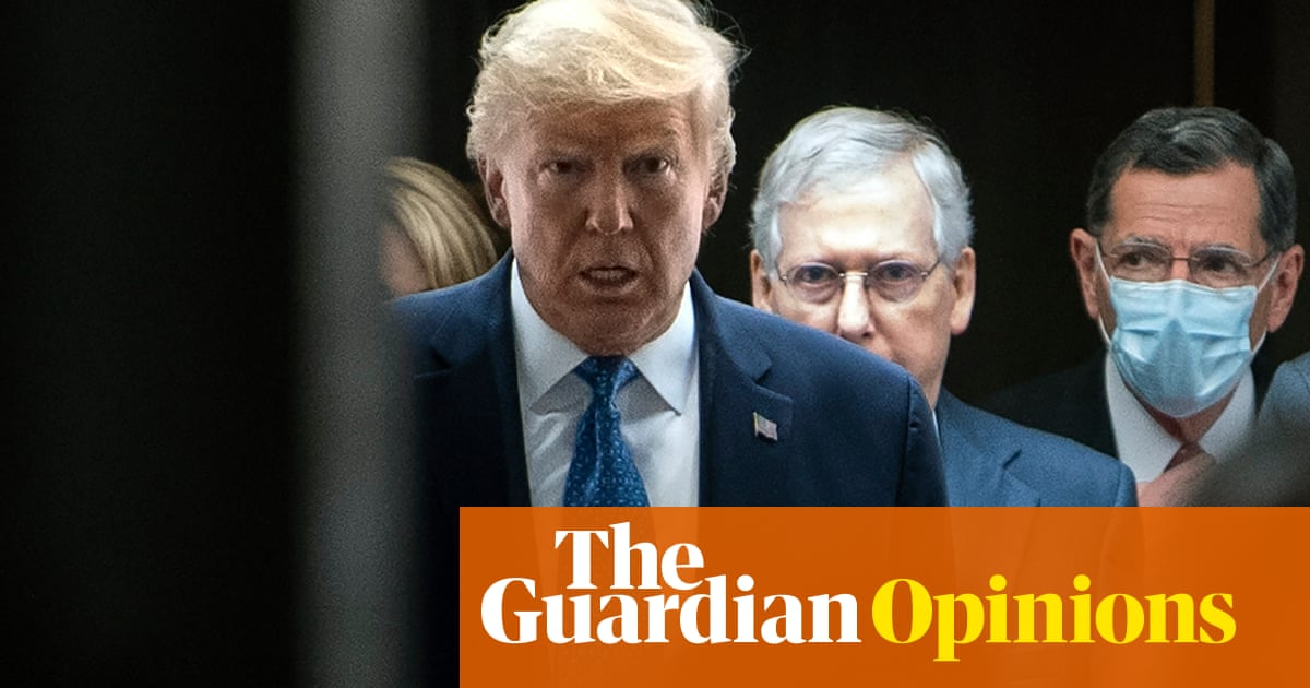 Trump and McConnell are the twin tribunes of America's ruin – vote them out | Robert Reich