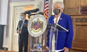 Kay Ivey speaks during a press conference in January.