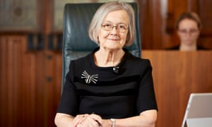 Lady Hale's second spider brooch.