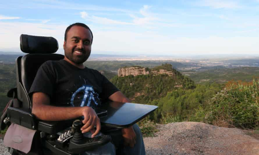 Srin Madipalli, who founded accessible travel startup Accommable two years ago.