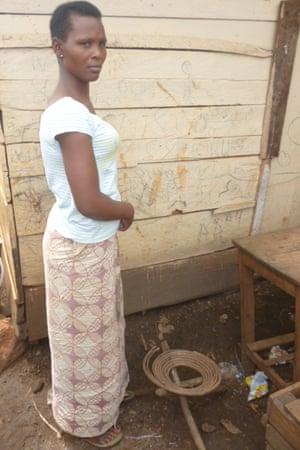 Shamimu Nabasirye credits her traditional birth attendant with saving her life.