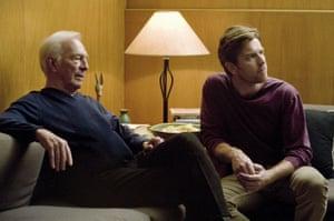 Christopher Plummer and Ewan McGregor in Mills's 2011 film Beginners