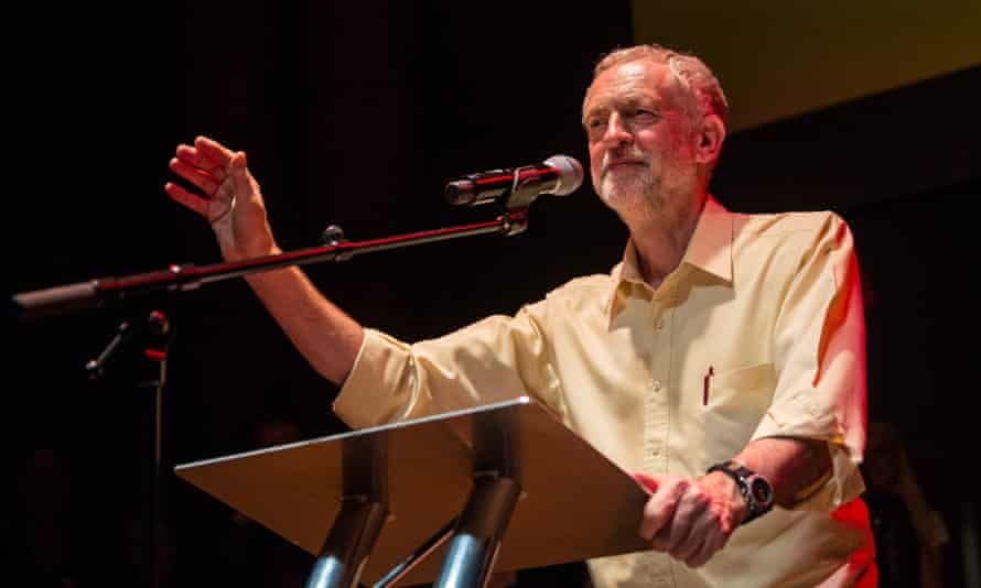 Jeremy Corbyn holds the final rally of his campaign for the Labour party leadership in London on Thursday.
