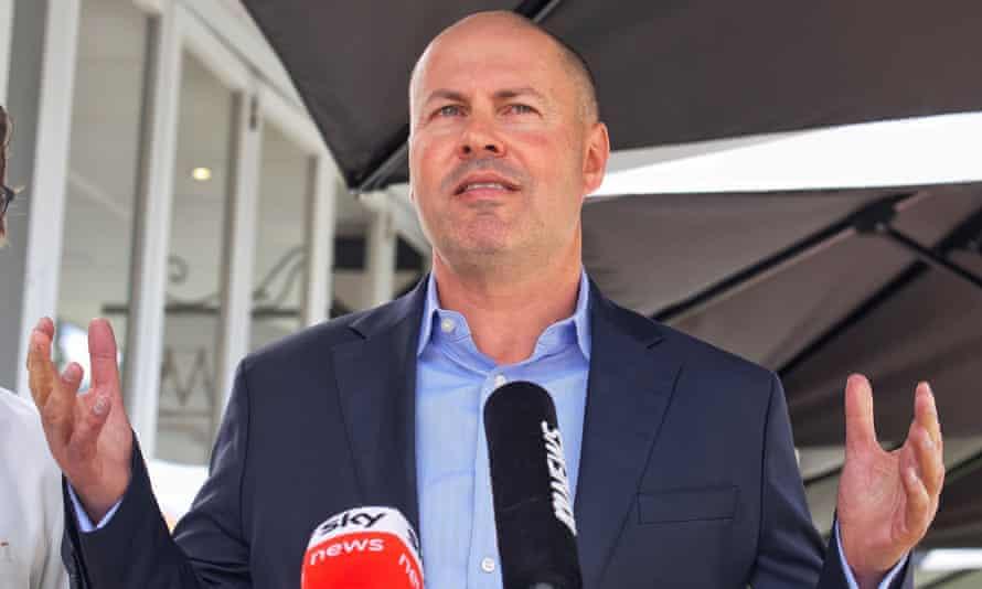 Australian treasurer Josh Frydenberg