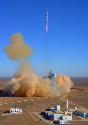 Remote sensing satellite Yaogan IV blasts off in December 2008