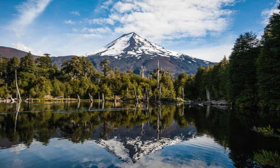 Conguillo national park, Chile.